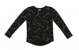 Kukukid Bluzka BLACK CONSTELLATION