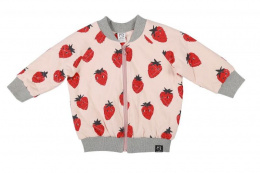 Kukukid Kurtka BOMBER PEACH STRAWBERRY