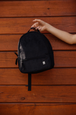 SHELLBAG Plecak pre-school mini faded black