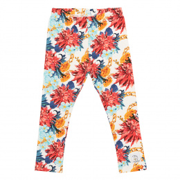 HEY POPINJAY Legginsy Dalia White