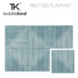 TODDLEKIND Mata do zabawy piankowa podłogowa Prettier Playmat Earth Marine Blue