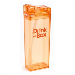 DRINK IN THE BOX Bidon ze słomką orange 350ml