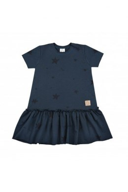 TUSS Sukienka Frilly Star navy