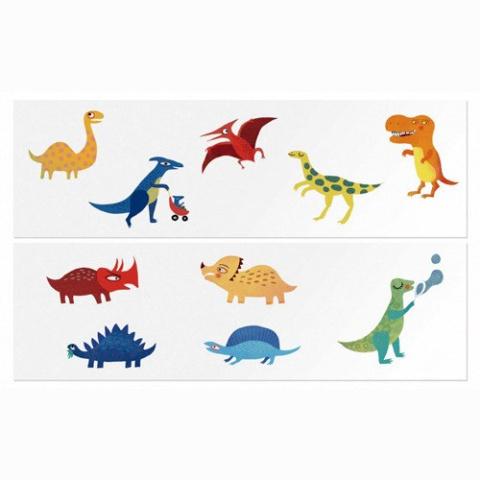 Londji Tatuaże Dla Dzieci Dinozaury