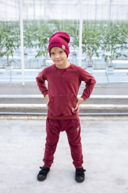 TUSS Bluza bordo Cold Dye