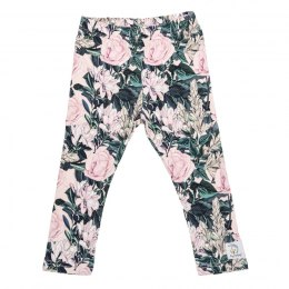 Hey Popinjay Legginsy Roses by Aleosa