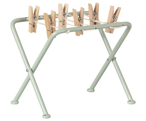 Maileg Suszarka na pranie - Drying rack with pegs