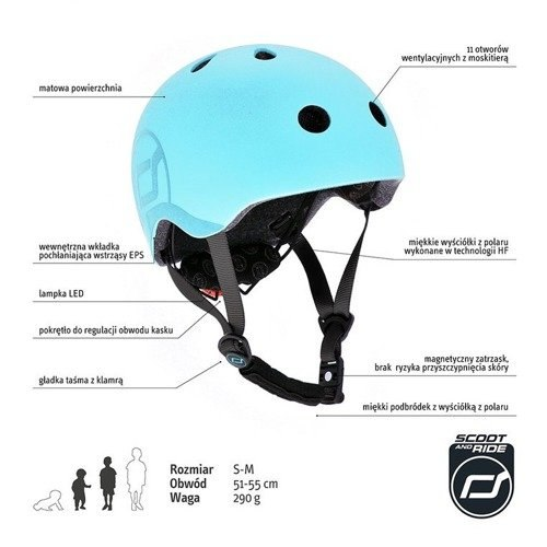 Kask S-M Blueberry
