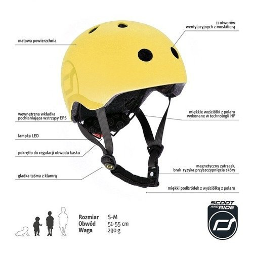 Kask S-M Lemon